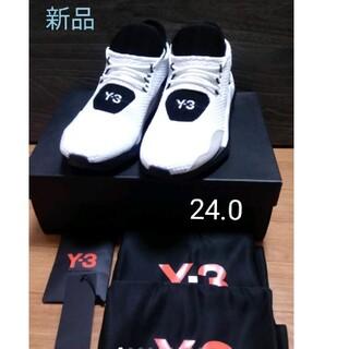 ワイスリー(Y-3)の新品 未使用 Y-3 スニーカー Saikou サイズ24.0(スニーカー)