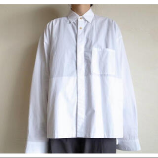 サンシー(SUNSEA)のstein  OVER SLEEVE COMBINE SHIRT JACKET (シャツ)
