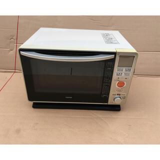トウシバ(東芝)の東芝 遠赤石窯オーブン ER-J6(W) [アイボリーホワイト](電子レンジ)