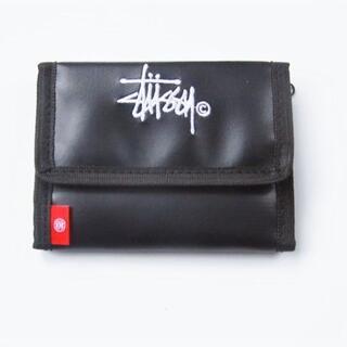 ステューシー(STUSSY)のSTUSSY☆ロゴ刺繍入りウォレット(折り財布)