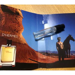 エルメス(Hermes)のエルメス サンプル 香水 TERRE D'HERMES(サンプル/トライアルキット)