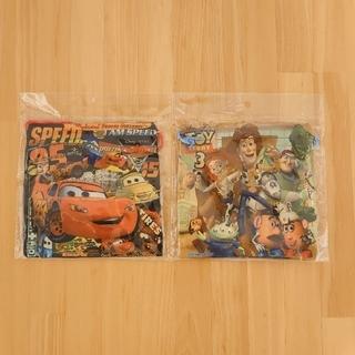 ディズニー(Disney)のディズニー カーズ& トイストーリー3 巾着袋(ランチボックス巾着)