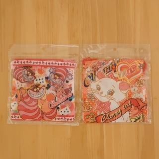 ディズニー(Disney)のディズニー アリス チェシャ猫&おしゃれキャット マリー 巾着袋(ランチボックス巾着)