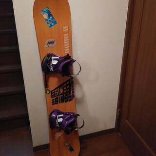 バートン(BURTON)のスノーボード、バートン、バインディング付き(ボード)