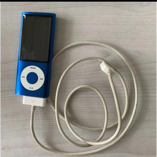 Apple - Apple iPod nano 青色 16GB 第5世代(USB充電コード付き)