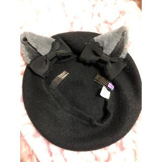アンジェリックプリティー(Angelic Pretty)の猫耳ベレー(ハンチング/ベレー帽)