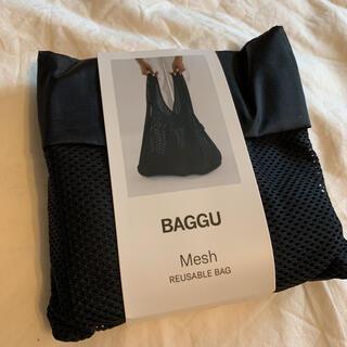ロンハーマン(Ron Herman)のBAGGU 黒 メッシュ standard ブラックメッシュ 新品(エコバッグ)