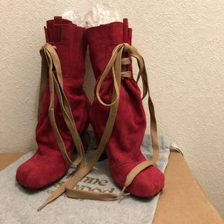 ヴィヴィアンウエストウッド(Vivienne Westwood)のアニマルトゥ バッグブーツ(ブーツ)