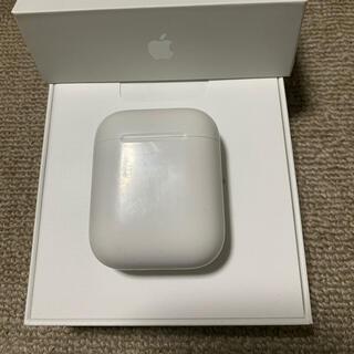 アップル(Apple)の美品 エアーポッズ AirPods 第一世代 充電ケースのみ(ヘッドフォン/イヤフォン)