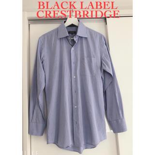 BURBERRY BLACK LABEL - 【ブラックレーベルクレストブリッジ】シャツ/ブルー/Mサイズ