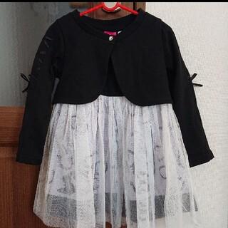 ディズニー(Disney)の新品 ワンピース 100 ラプンツェル フォーマル  ディズニー(ドレス/フォーマル)
