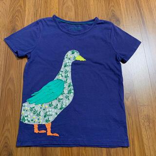 ボーデン(Boden)のmini boden アップリケTシャツ 6-7 120 110 アヒル (Tシャツ/カットソー)