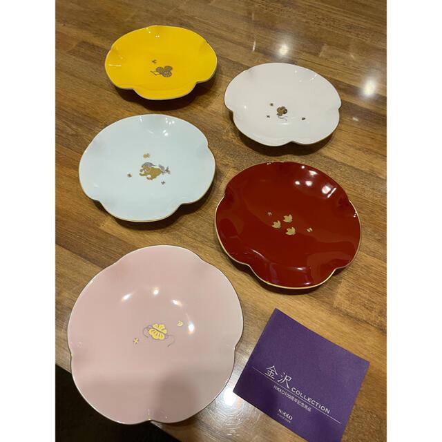 NIKKO(ニッコー)の【限定】NIKKO ニッコー 金沢コレクション 100周年 小皿 5枚 プレート インテリア/住まい/日用品のキッチン/食器(食器)の商品写真