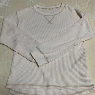 シマムラ(しまむら)のワッフルトップス(Tシャツ(長袖/七分))