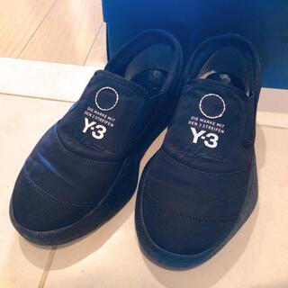 ワイスリー(Y-3)の【美品】Y-3 TANGUTSU LACE スニーカー ブラック(スニーカー)