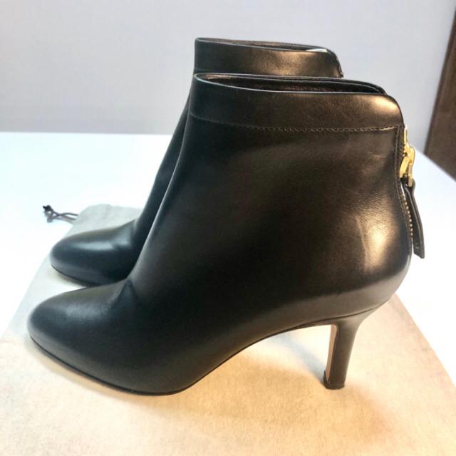 PELLICO(ペリーコ)の25日まで特別価格❗️PELLICO ペリーコ ショートブーツ黒37cm レディースの靴/シューズ(ブーティ)の商品写真