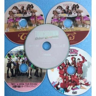 ウェストトゥワイス(Waste(twice))のTWICE 日本語バージョン DVD 5枚セットTWICE❤初心者用(ミュージック)