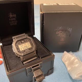 ステューシー(STUSSY)のステューシー XXV✖️ CASIO G-SHOCK DW-5000ST-1JR(腕時計(デジタル))