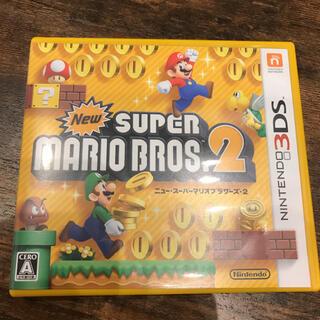 ニンテンドー3DS(ニンテンドー3DS)の★ケースのみ★New スーパーマリオブラザーズ2 3DS(携帯用ゲームソフト)