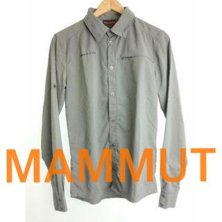 マムート(Mammut)の【値下げ】シャツ マムート MAMMUT(登山用品)