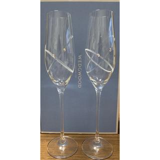 ウェッジウッド(WEDGWOOD)のWEDGWOOD プロミシス シャンパングラス(シャンパン/スパークリングワイン)