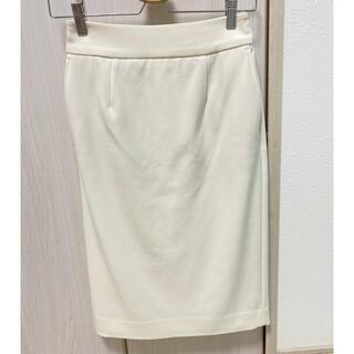 プラステ(PLST)のPLST ウォームリザーブスカート XS(ひざ丈スカート)