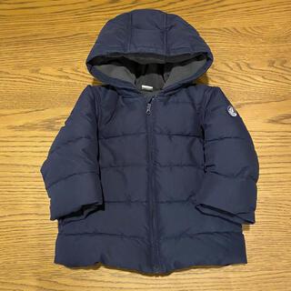 プチバトー(PETIT BATEAU)のプチバトー ダウンジャケット 男女兼用 サイズ80 ネイビー(ジャケット/コート)