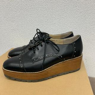 サヴァサヴァ(cavacava)のcavacava   ローファー ブラック  23.5センチ サヴァサヴァ(ローファー/革靴)