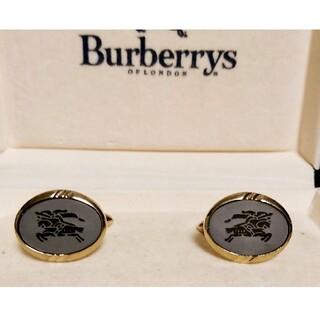 BURBERRY - BURBERRYバーバリーカフスセット騎士ロゴ