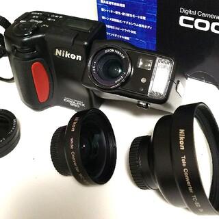 Nikon - Nikon coolpix 950 テレコンバーター TC-E2&WC-E24