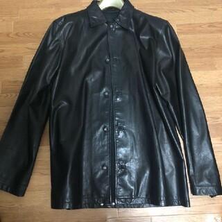 クロムハーツ(Chrome Hearts)のクロムハーツ レザーシャツジャケット(ライダースジャケット)