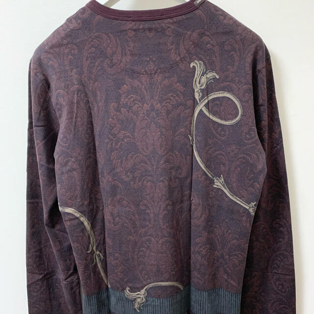 DOLCE&GABBANA(ドルチェアンドガッバーナ)の{完全正規品]Dolse&gabbana ドルチェ&ガッバーナ ロンT メンズのトップス(Tシャツ/カットソー(七分/長袖))の商品写真