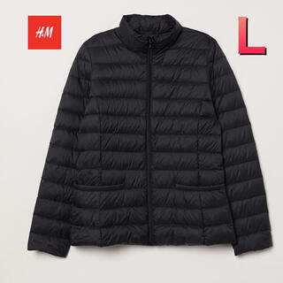 エイチアンドエム(H&M)の【新品】H&M ライトダウンジャケット(ダウンジャケット)