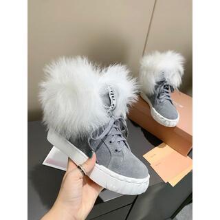 ミュウミュウ(miumiu)の新品 Miu miu秋冬のショートブーツ(ブーツ)