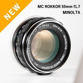コニカミノルタ(KONICA MINOLTA)の緑のロッコール!MC ROKKOR-PF 58mm f1.7(レンズ(単焦点))