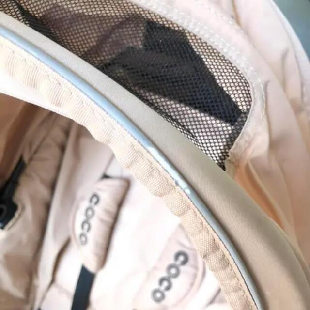 AIRBUGGY(エアバギー)のエアバキー ココブレーキ(マット、ヘッドサポート付き☆) キッズ/ベビー/マタニティの外出/移動用品(ベビーカー/バギー)の商品写真