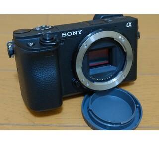 ソニー(SONY)の専用_α6400ボディ(ブラック)_元箱付き、約2700ショット(ミラーレス一眼)