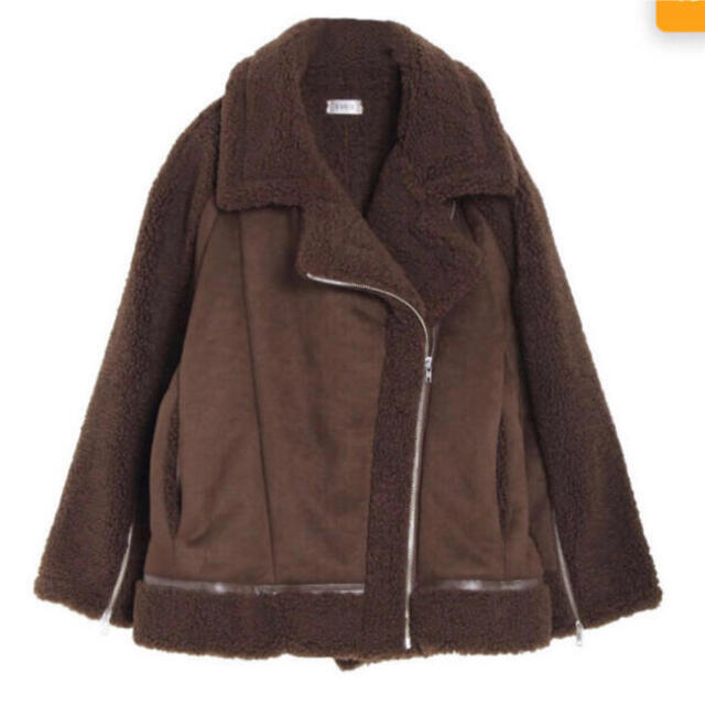 EVRIS(エヴリス)のエヴリス 今季 ムートンコート 最終値下げ レディースのジャケット/アウター(ムートンコート)の商品写真