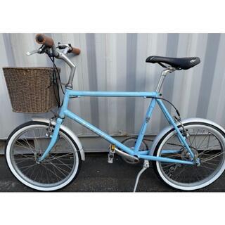 ビアンキ(Bianchi)のBianchi-Merlo-ブルー(自転車本体)