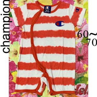 チャンピオン(Champion)のchampion ロンパ-ス 60-70(ロンパース)