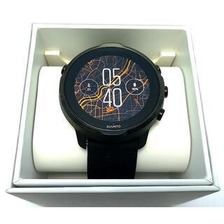スント(SUUNTO)の【保証書付き】sunnto7 スント7 ブラック(腕時計(デジタル))