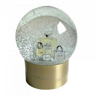 シャネル(CHANEL)の【非売品】シャネル CHANEL 海外限定 ノベルティ スノードーム ゴールド(置物)