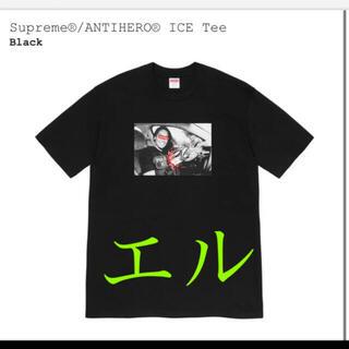 シュプリーム(Supreme)のシュプリーム Tシャツ Supreme Tee Tシャツ ANTIHERO L(Tシャツ/カットソー(半袖/袖なし))