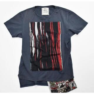 ミハラヤスヒロ(MIHARAYASUHIRO)のメゾン ミハラヤスヒロ ドッキング半袖Tシャツ 46 グレー(Tシャツ/カットソー(半袖/袖なし))