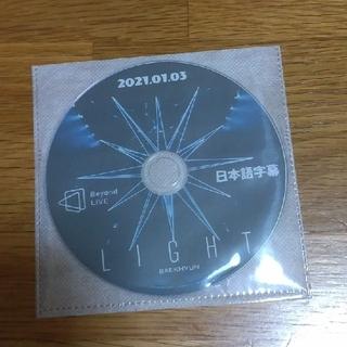 エクソ(EXO)のBAEKHYUN☆Beyond LIVE LIGHT DVD(ミュージック)