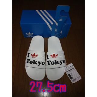 アディダス(adidas)のアディダス  アディレッタサンダル  27.5cm シャワーサンダル(サンダル)