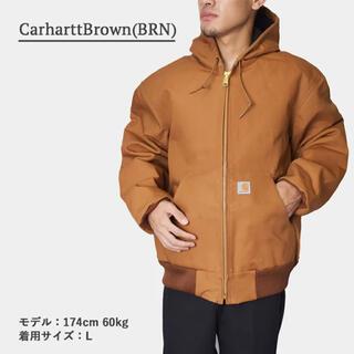 カーハート(carhartt)の新品未使用 カーハート アクティブジャケット J140 ブラウン Lサイズ(その他)