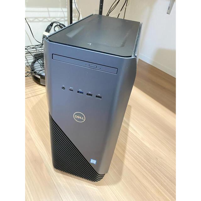 DELL(デル)のゲーミングpc Inspiron DT 5680 - GTX1060搭載 スマホ/家電/カメラのPC/タブレット(デスクトップ型PC)の商品写真