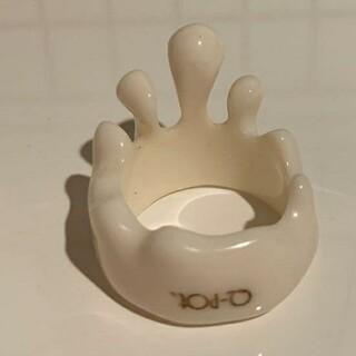 キューポット(Q-pot.)の甘味料様専用 Q-pot メルトリング L コンデンスミルク(リング(指輪))