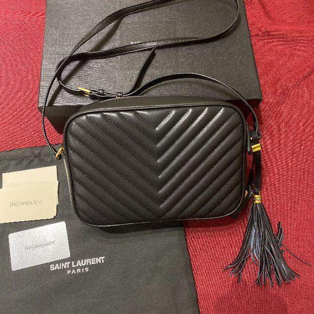 Saint Laurent(サンローラン)のSAINT LAURENT フリンジ カメラバック ショルダーバッグ レディースのバッグ(ショルダーバッグ)の商品写真